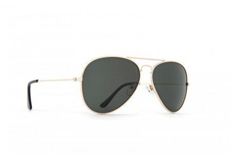 INVU Мъжки слънчеви очила с поляризация B1410B - Златна рамка