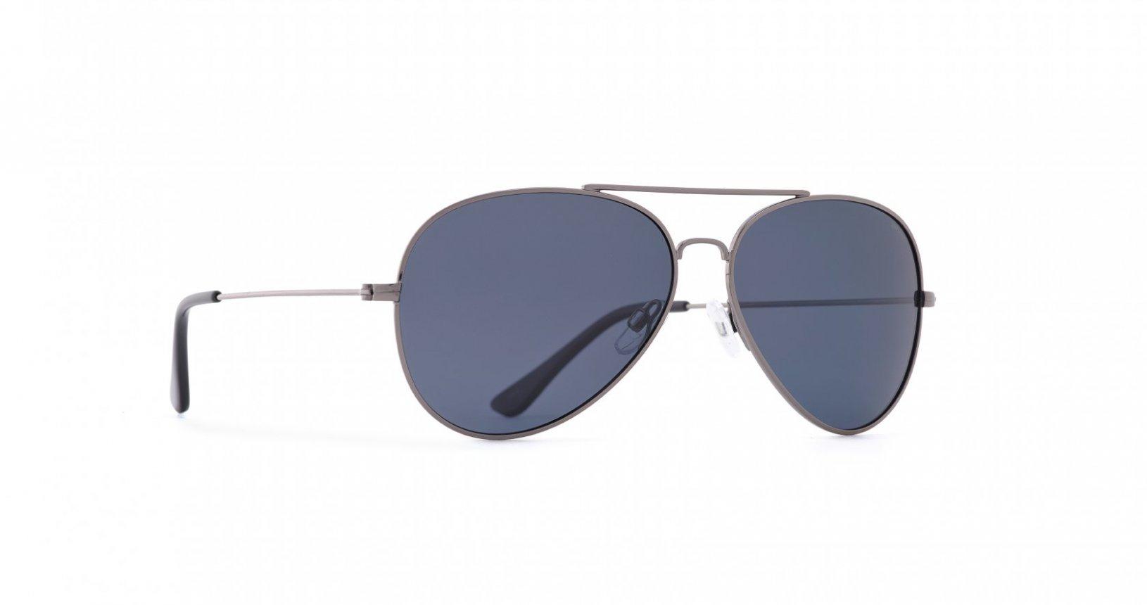 INVU Мъжки слънчеви очила с поляризация B1410D - Тъмен метал
