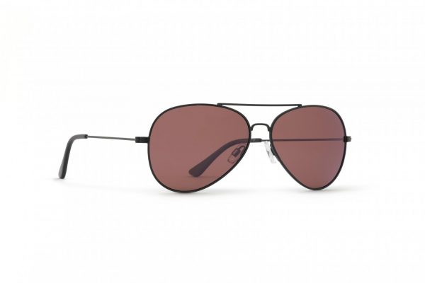 INVU Мъжки слънчеви очила с поляризация B1410F - Мат рамка и стъкла мед
