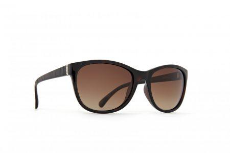 INVU Дамски слънчеви очила с поляризация B2401B - Рамка Деми и кафяви градиент стъкла