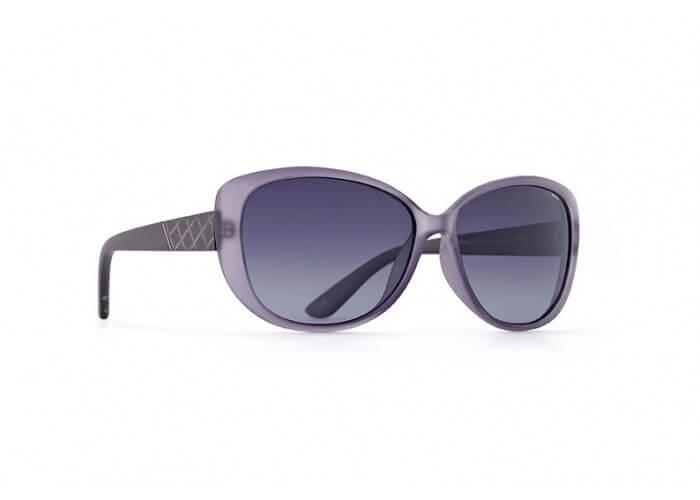 INVU Дамски слънчеви очила с поляризация B2515C - Лилава рамка и лилави градиент стъкла