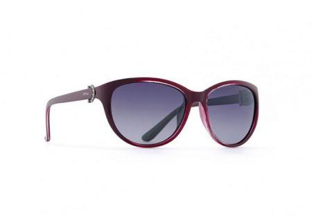INVU Дамски слънчеви очила с поляризация B2521C и UV защита за очите - Лилава рамка и лилави градиент стъкла
