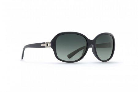 INVU Дамски слънчеви очила с поляризация B2605A - Черна рамка и зелени градиент стъкла