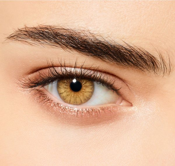 DESIO - Цветни лещи за очи - Caramel Brown (Кафяв карамел)