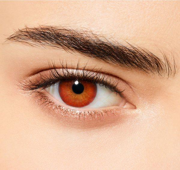 DESIO - Цветни лещи за очи - Cherry Coffee (Кафе череша)