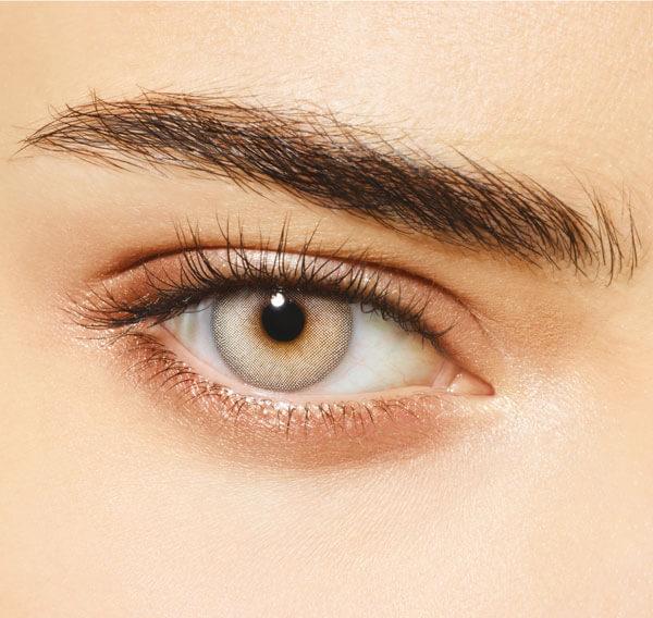 DESIO - Цветни лещи за очи - Rebel Grey (Непокорно сиво)