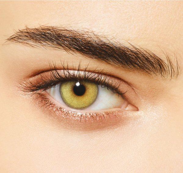 DESIO - Цветни лещи за очи - Wild Green (Диво зелено)