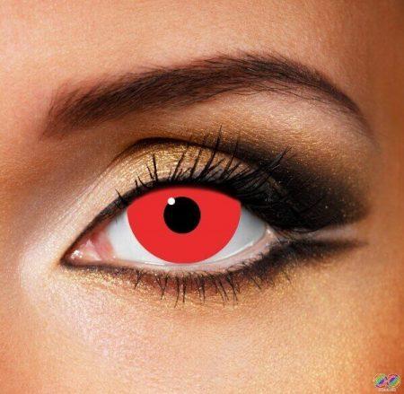 Мини склера червени лещи