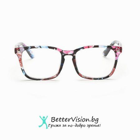 Дизайнерски Очила за компютър – Флорални мотиви