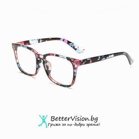 Флорални мотиви - Дизайнерски Очила за компютър