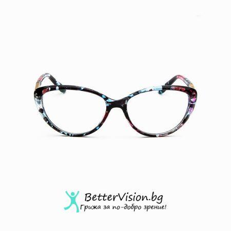 Очила за компютър котешко око - Флорални