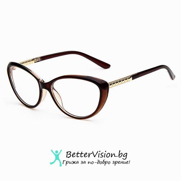 Очила за компютър котешко око - Brown Sugar