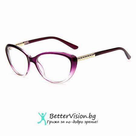 Очила за компютър котешко око - Лилави