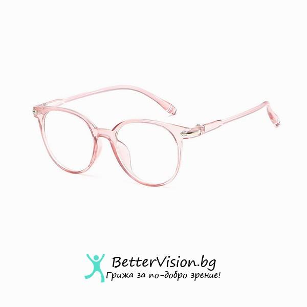 Дизайнерски Очила за компютър - Rose Gold (Anti Blue Light)