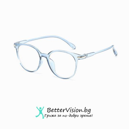 Дизайнерски Очила за компютър - Ice Blue (Anti Blue Light)