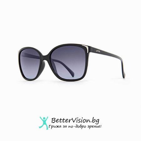INVU Дамски слънчеви очила с поляризация B2418A - Черна рамка и лилави градиент стъкла