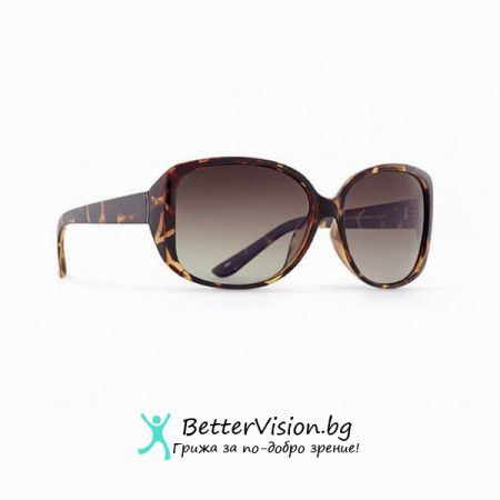 Рамка Деми и кафеви градиент стъкла - INVU Дамски слънчеви очила с поляризация B2511B