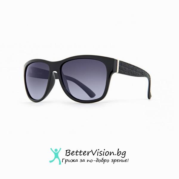 INVU Дамски слънчеви очила с поляризация B2528A - Черна рамка и лилави градиент стъкла
