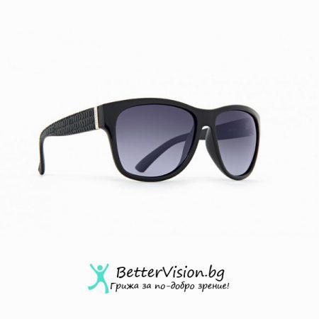 Черна рамка и лилави градиент стъкла - INVU Дамски слънчеви очила с поляризация B2528A