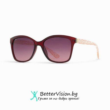 INVU Дамски слънчеви очила с поляризация B2704C - Червена рамка и Червени градиент стъкла