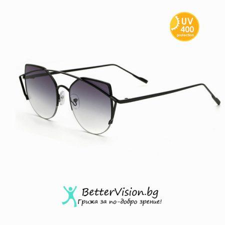 Слънчеви очила Cat Eye - Grey
