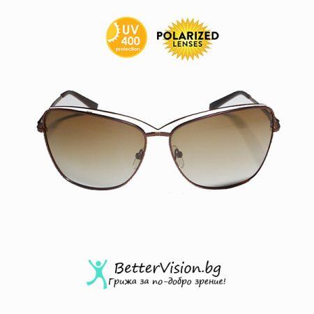 Слънчеви очила Кафяв Мат и Златно