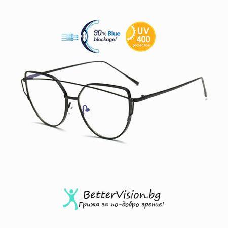 Очила за компютър Cat Eye - Black
