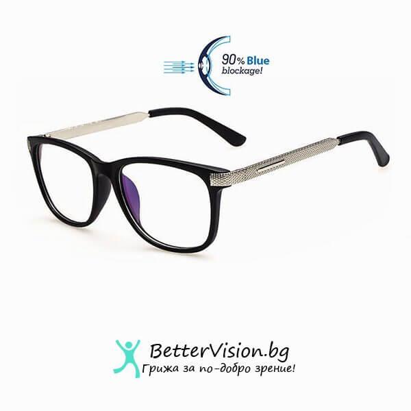 Очила за компютър - Fashion Charm Черен мат