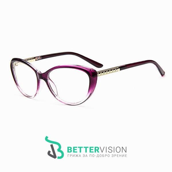 Рамки за очила котешко око лилав гланц