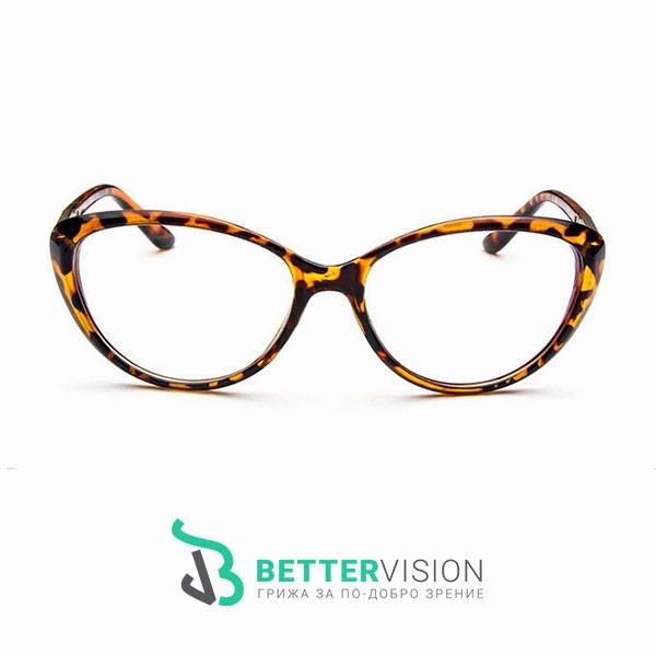 Рамки за очила котешко око леопард