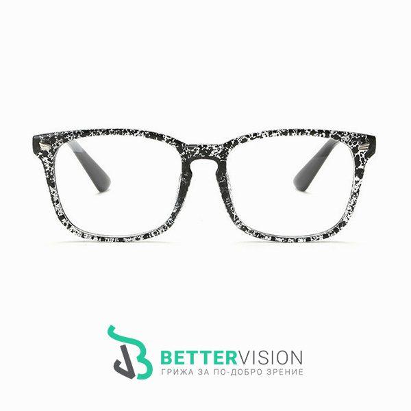 Очила за компютър Черен флорал