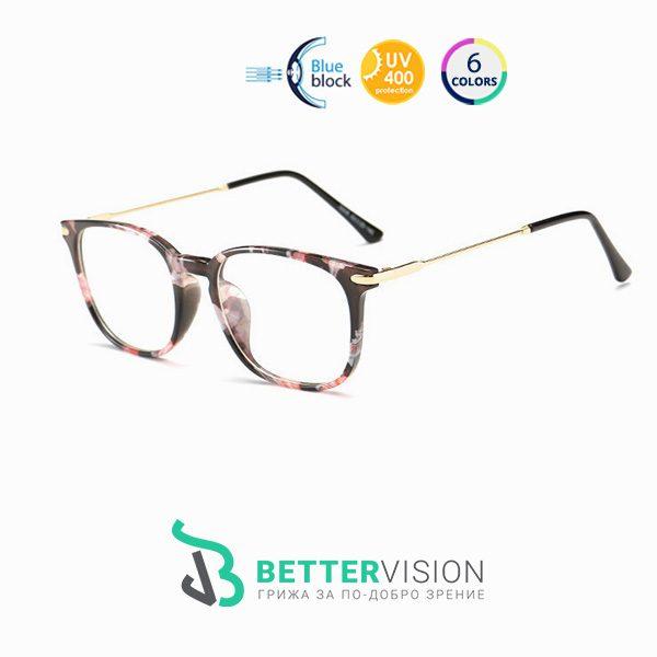 Очила за компютър Supremacy - Флорални мотиви