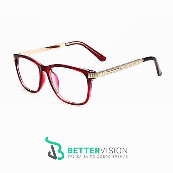 Очила за компютър Fashion Charm - Червени