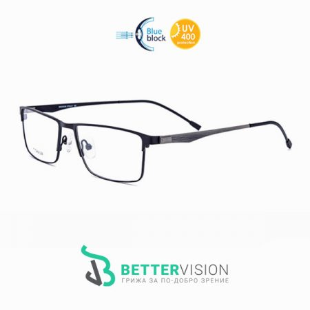 Бизнес титаниеви очила за компютър