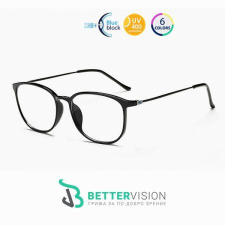 Очила за компютър - Trend Icon - Черен гланц