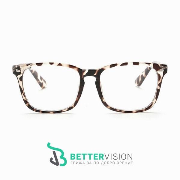 Рамки за очила Ретро - леопард