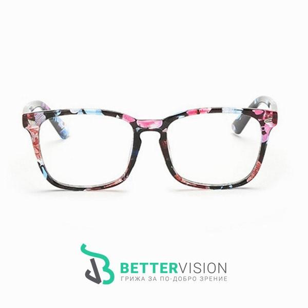 Рамки за очила Ретро - флорални мотиви
