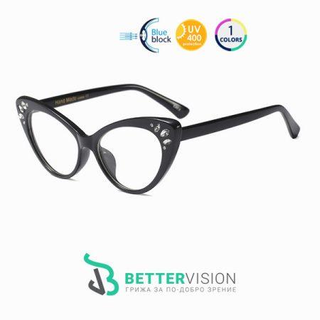 очила за компютър Котешко око пеперуда