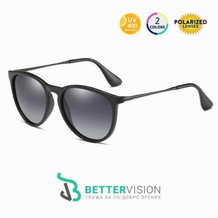 Слънчеви очила Riley Черно