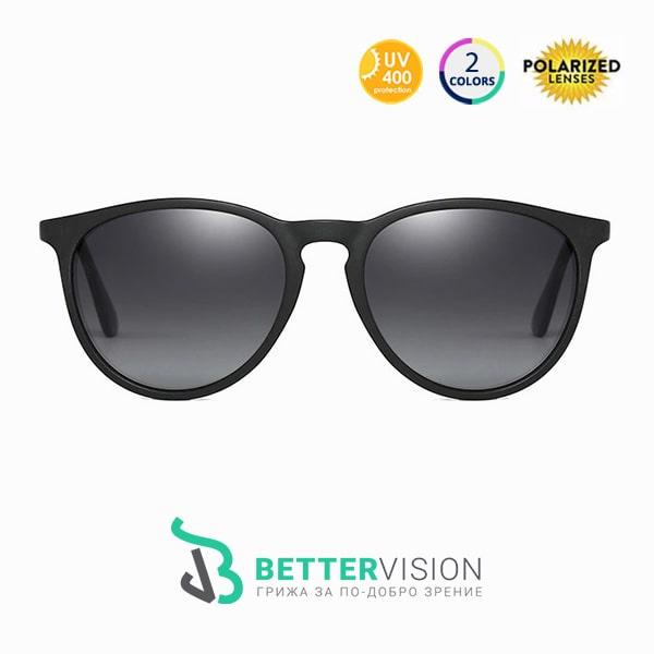 Слънчеви очила Riley Черно с UV400 и поляризация