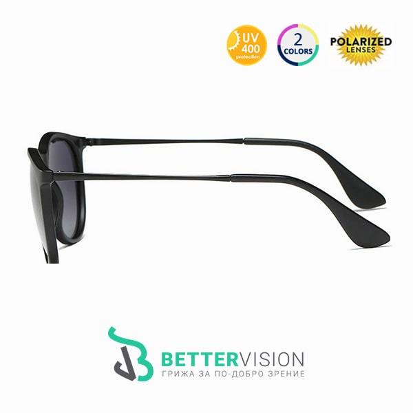Слънчеви очила Riley Черно с UV400