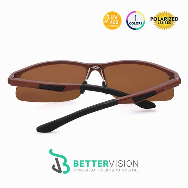 Слънчеви Очила Sport - Brown - Кафяви с Поляризация