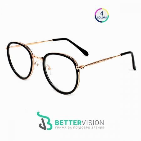 Рамки за очила - Blair - черно и златно