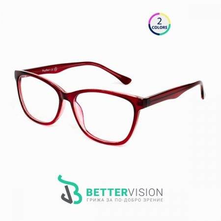 Диоптрични рамки за очила Carol - бордо